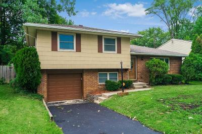 Westerville Single Family Home Contingent Finance And Inspect: 3456 Dahlgreen Drive