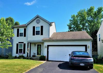 Reynoldsburg Single Family Home Contingent Finance And Inspect: 6987 Bennell Drive