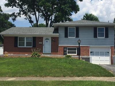 Reynoldsburg Single Family Home Contingent Finance And Inspect: 6504 Carriage Lane