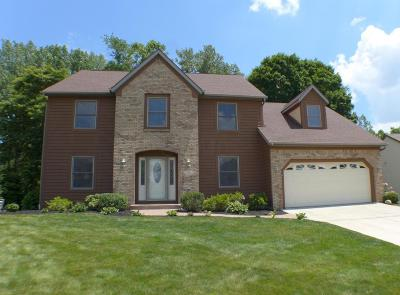 Reynoldsburg Single Family Home Contingent Finance And Inspect: 319 Fallriver Drive
