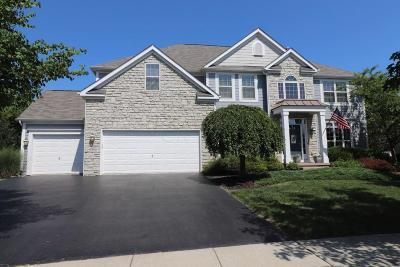 Dublin Single Family Home Contingent Finance And Inspect: 5547 Pensworthy Drive