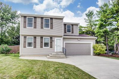 Hilliard Single Family Home Contingent Finance And Inspect: 5272 Citrus Drive