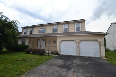 Groveport Single Family Home Contingent Finance And Inspect: 4893 Bixby Ridge Drive W