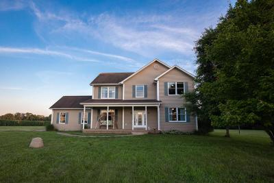 Washington Court House Single Family Home For Sale: 195 Bloomingburg-New Holland Road NW