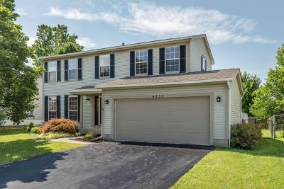 Hilliard Single Family Home Contingent Finance And Inspect: 4933 Silver Bow Drive