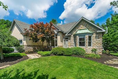 Dublin Single Family Home Contingent Finance And Inspect: 5680 Loch Broom Circle