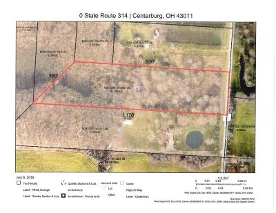 Centerburg Residential Lots & Land Contingent Finance And Inspect: State Route 314