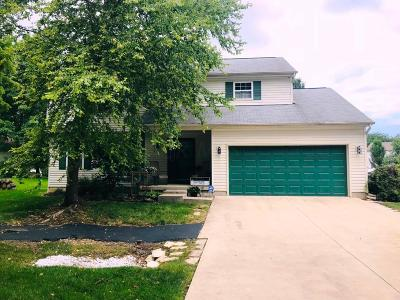 Canal Winchester Single Family Home Contingent Finance And Inspect: 7110 Motts Place Road
