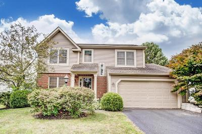 Hilliard Single Family Home Contingent Finance And Inspect: 5313 Old Creek Lane