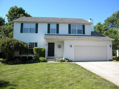 Westerville Single Family Home Contingent Finance And Inspect: 841 Lakeway Court W