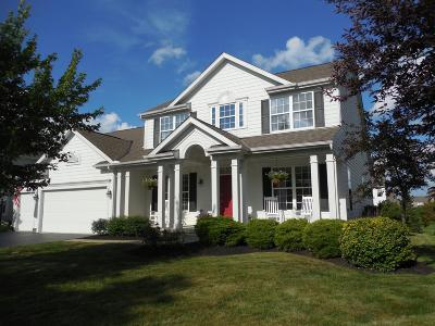 Dublin Single Family Home Contingent Finance And Inspect: 7636 Conley Lane