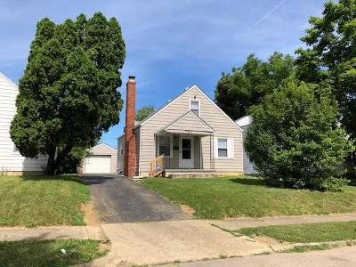 Columbus Single Family Home Contingent Finance And Inspect: 781 S Burgess Avenue
