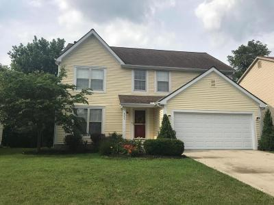 Blacklick Single Family Home Contingent Finance And Inspect: 7744 Worley Drive
