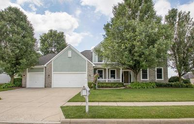Pickerington Single Family Home Contingent Finance And Inspect: 13484 Silver Brook Drive