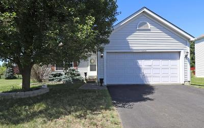 Hilliard Single Family Home Contingent Finance And Inspect: 5878 Coldcreek Drive