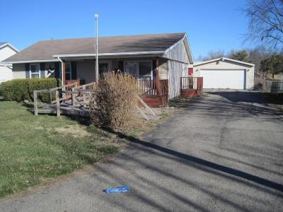 New Holland OH Single Family Home For Sale: $56,500