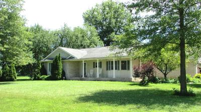 Ashville Single Family Home Contingent Finance And Inspect: 5721 State Route 752