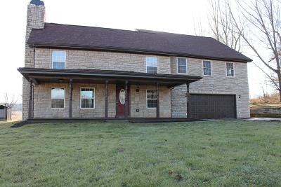 Nashport Single Family Home Contingent Finance And Inspect: 5519 Licking Valley Road SE