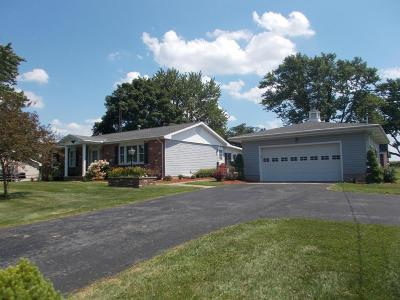 Washington Court House Single Family Home Contingent Finance And Inspect: 2627 Staunton-Sugar Grove Road