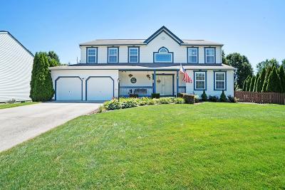 Pickerington Single Family Home For Sale: 176 Knights Bridge Drive E