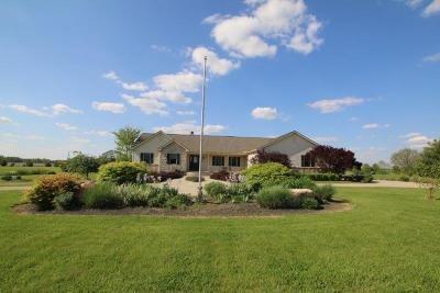 Centerburg Single Family Home For Sale: 7377 Lock Road