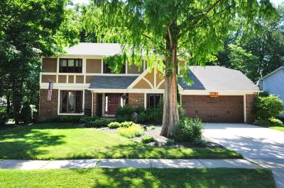 Westerville Single Family Home For Sale: 695 Autumn Tree Place
