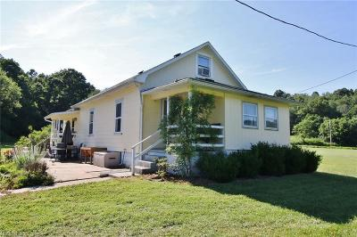 Frazeysburg Single Family Home For Sale: 8245 Baker Road