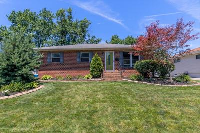 Hilliard Single Family Home Contingent Finance And Inspect: 5360 Morning Drive