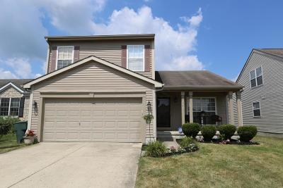 Canal Winchester Single Family Home Contingent Finance And Inspect: 5411 John Browning Court