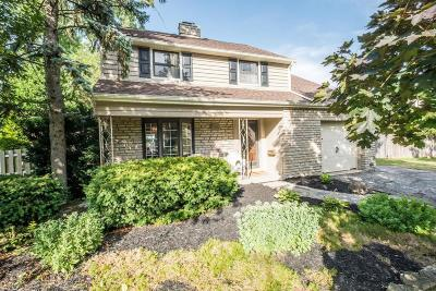Upper Arlington Single Family Home For Sale: 2164 Northwest Boulevard
