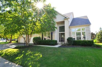 Dublin Single Family Home Contingent Finance And Inspect: 6594 Strathern Court
