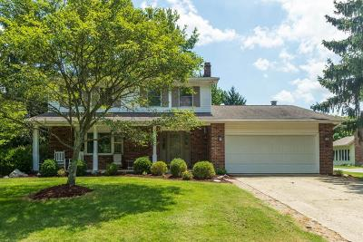 Grove City Single Family Home Contingent Finance And Inspect: 6277 White Sulphur Court