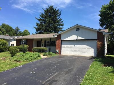 Columbus Single Family Home For Sale: 960 Kenwood Lane