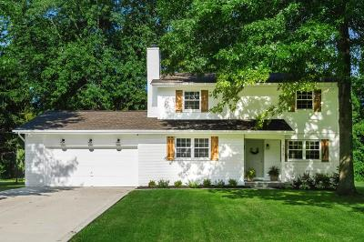 New Albany Single Family Home Contingent Finance And Inspect: 3839 Pine Meadow Road