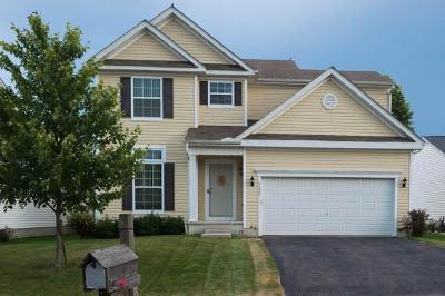 Canal Winchester Single Family Home Contingent Finance And Inspect: 7221 Sweet Meadow Drive