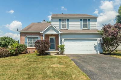 Canal Winchester Single Family Home Contingent Finance And Inspect: 7362 Winchester Cathedral Court