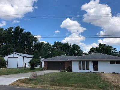 Columbus Single Family Home For Sale: 1322 Greenleaf Road