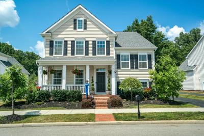 New Albany Single Family Home Contingent Finance And Inspect: 7947 Scarborough Hall Drive