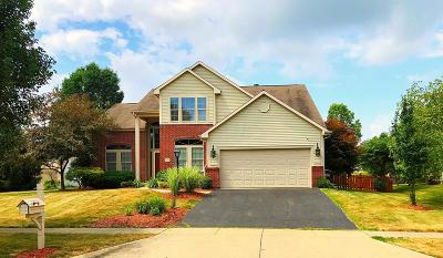 Pickerington Single Family Home Contingent Finance And Inspect: 717 Preston Trails Drive