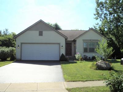 Reynoldsburg Single Family Home Contingent Finance And Inspect: 714 Keltoncrest Drive