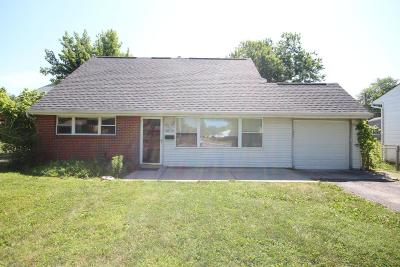 Grove City Single Family Home Contingent Finance And Inspect: 3878 Jerome Court