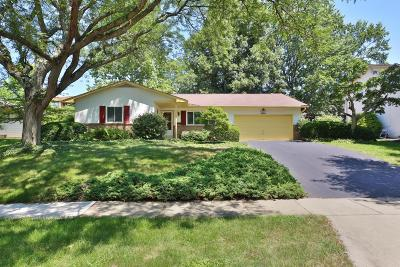 Worthington Single Family Home Contingent Finance And Inspect: 6760 Hayhurst Street