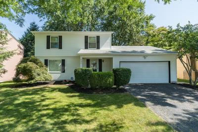 Reynoldsburg Single Family Home Contingent Finance And Inspect: 6536 Benjamin Drive