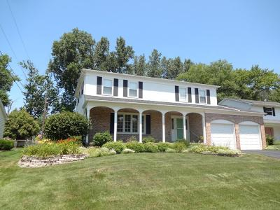 Reynoldsburg Single Family Home Contingent Finance And Inspect: 6670 Woodsedge Drive