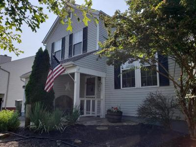 Reynoldsburg Single Family Home Contingent Finance And Inspect: 6893 Brockland Drive