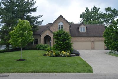 Pickerington Single Family Home Contingent Finance And Inspect: 8815 Chateau Drive