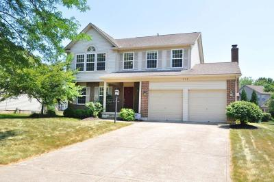 Pickerington Single Family Home Contingent Finance And Inspect: 779 Melrose Boulevard