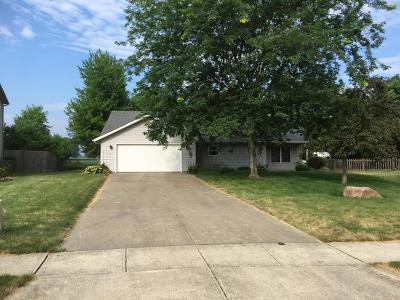 Plain City Single Family Home Contingent Finance And Inspect: 70 Coachman Drive
