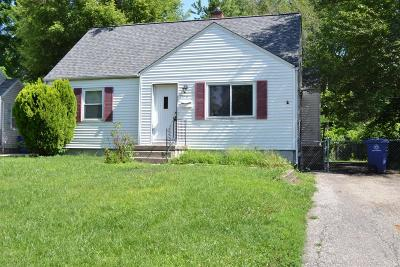 Columbus OH Single Family Home For Sale: $75,000