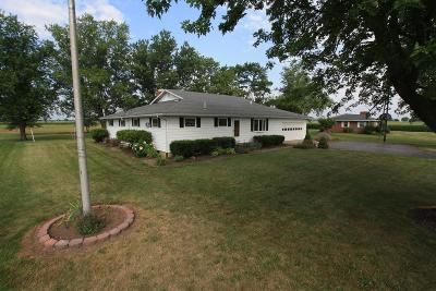 Franklin County, Delaware County, Fairfield County, Hocking County, Licking County, Madison County, Morrow County, Perry County, Pickaway County, Union County Single Family Home For Sale: 11900 State Route 56 SE